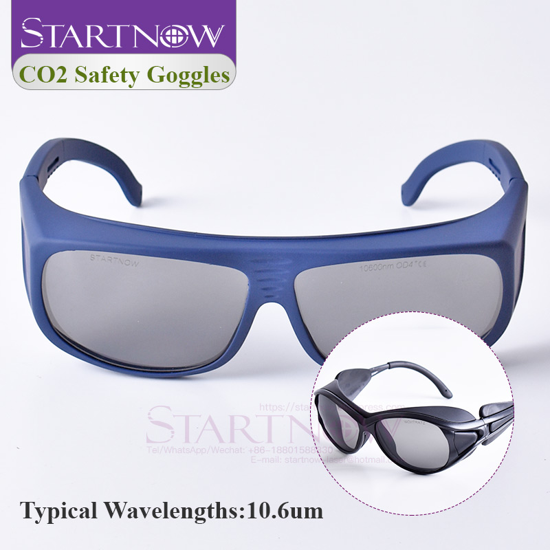 10600nm For CO2 Laser Marker Machine Parts Laser Safety Goggles OD4+ CE Certificate Laser Protection Glasses Protective Eyewear