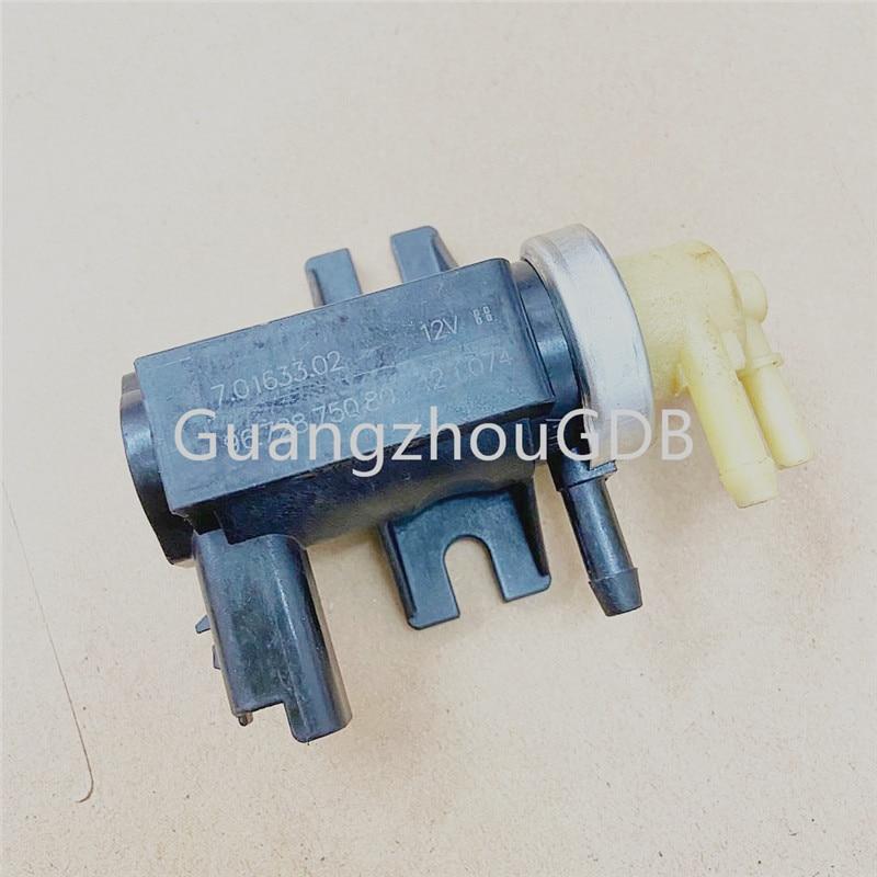 Вакуумный преобразователь давления Pierburg 7.01633.02 9672875080 701633050, турбозарядное устройство, преобразователь давления, запчасти от производителя ...