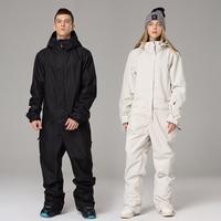 Ski Jumpsuit Men Women Ski Suit Windproof Waterproof Snow Set Female Male Winter Outdoor Skiing Snowboarding Jacket And Pants