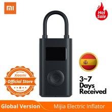 Globale Version Xiaomi Mijia Elektrische Inflator Bike Auto Smart Digitale Reifendruck-Erkennung Tragbare Elektrische Luft Kompressor Pumpe LED beleuchtung