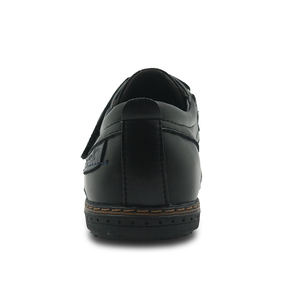 Image 3 - Apakowa Brand New Childrens Pu Leather Boys Shoes Spring & Autumn Black Flat Kids School Dress Shoes Wedding Casual Loafers