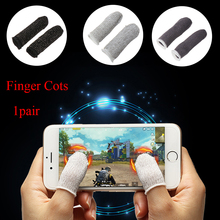 Game-Controller Finger PUBG Sweatproof Mobile-Finger-Stall Breathable 1-Pair Sensitive