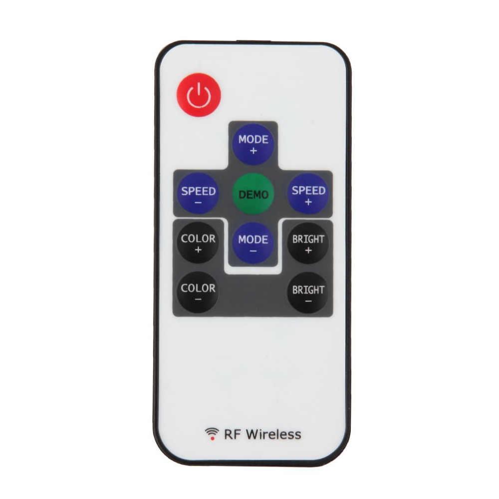 RF10 ключи DIY Беспроводной DC Пульт дистанционного управления светодиодный RGB красочный с кабелем