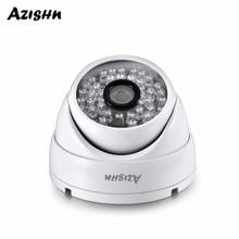 AZISHN AZ IP307 03 Full HD 3MP SONY IMX307 1080P POE Della Cupola di Sicurezza Macchina Fotografica del IP ONVIF H.265AI Esterna Impermeabile di Sorveglianza In Metallo