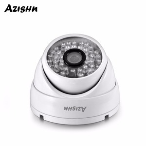AZISHN AZ-IP307-03 Full HD 3MP SONY IMX307 1080P POE Security Dome IP Camera ONVIF H.265AI Outdoor Waterproof Metal Surveillance(China)
