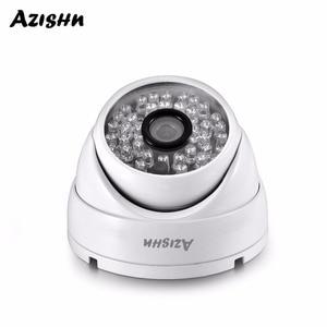 Image 1 - AZISHN AZ IP307 03 מלא HD 3MP SONY IMX307 1080P POE אבטחת כיפת IP המצלמה ONVIF H.265AI חיצוני עמיד למים מתכת מעקב