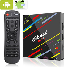 H96 MAX Plus TV BOX Android 9.0 4GB RAM 32GB 64GB ROM Rockchip Set Top Box 5G Wifi 4K smart Media Player pro h96 pro plus smart tv box android 7 1 amlogic s912 octa core 3gb 32gb 4k hd media player 2 4g 5g wifi bt4 1 mini pc set top box