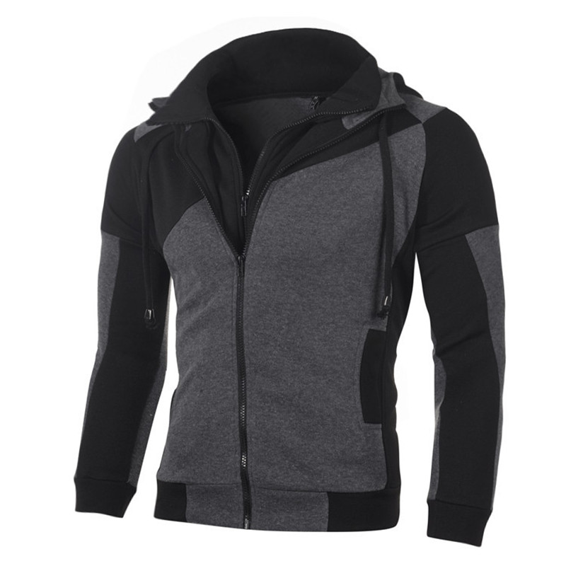 New Outdoor Sports Running Jackets Men Winter Thermal Hoodies Sports Coat Zipper Fitness Sweatshirt Gym Jogging Suit Plus Size