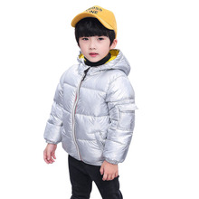 New Winter Jacket For Kids Children's Warm Hooded Outerwear Coat Toddler boys Jackets Baby Girls Clothes Snowsuit Clothing стоимость