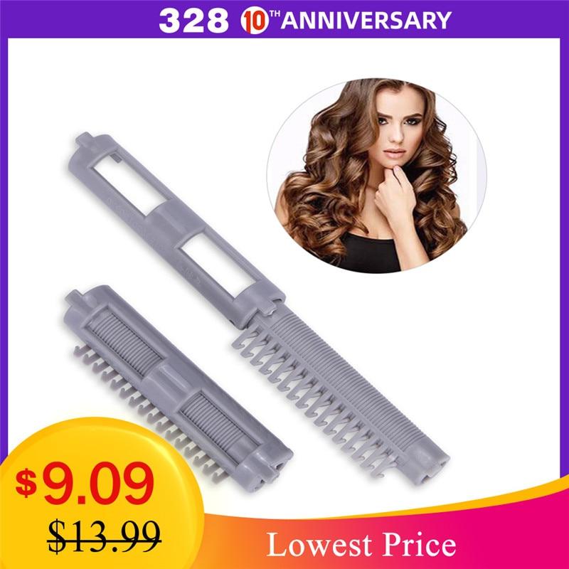25pcs/bag DIY Hair Clip Wave Perm Rod Bars Corn Curler Hair Roots Perm Hair Styling Tool Design Curling Curler Hairdresser Tools