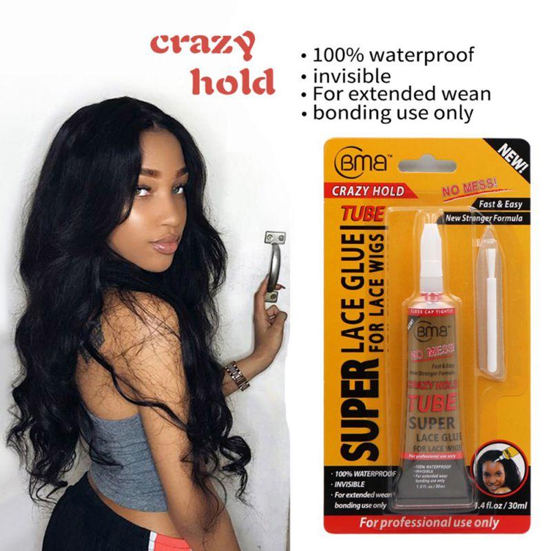 Новый профессиональный кружевной парик клей парик Невидимый Клей наращивание волос жидкий инструмент для замены