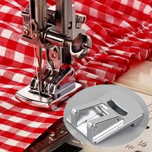 1 pçs sliver rolou hem curling presser pé para máquina de costura cantor janome acessórios de costura venda quente