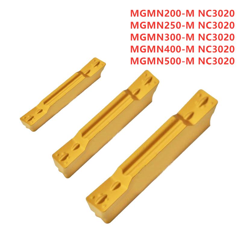 10× MGMN400-M NC Carbide Inserts CNC for steel stainless steel CNC cast iron
