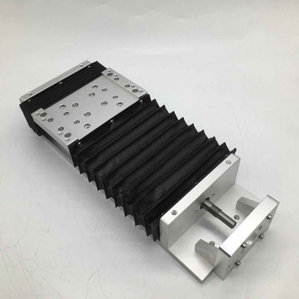 400 мм ход ЧПУ тяжелая нагрузка Электрический раздвижной стол слайд & Пылезащитная крышка линейный сценический SFU1605 C7 шариковый винт SBR напра...
