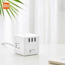 Xiaomi Mijia USB зарядное устройство адаптер питания 6 портов розетка конвертер Экономия пространства розетка для iPhone 11 huawei P30