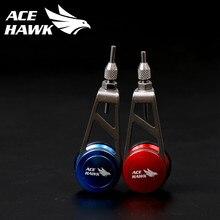 Ace hawk novo nó assist knotting máquina gt pr fg nó máquina ferramenta de pesca dobadoura pesca bobina knotter linha de pesca