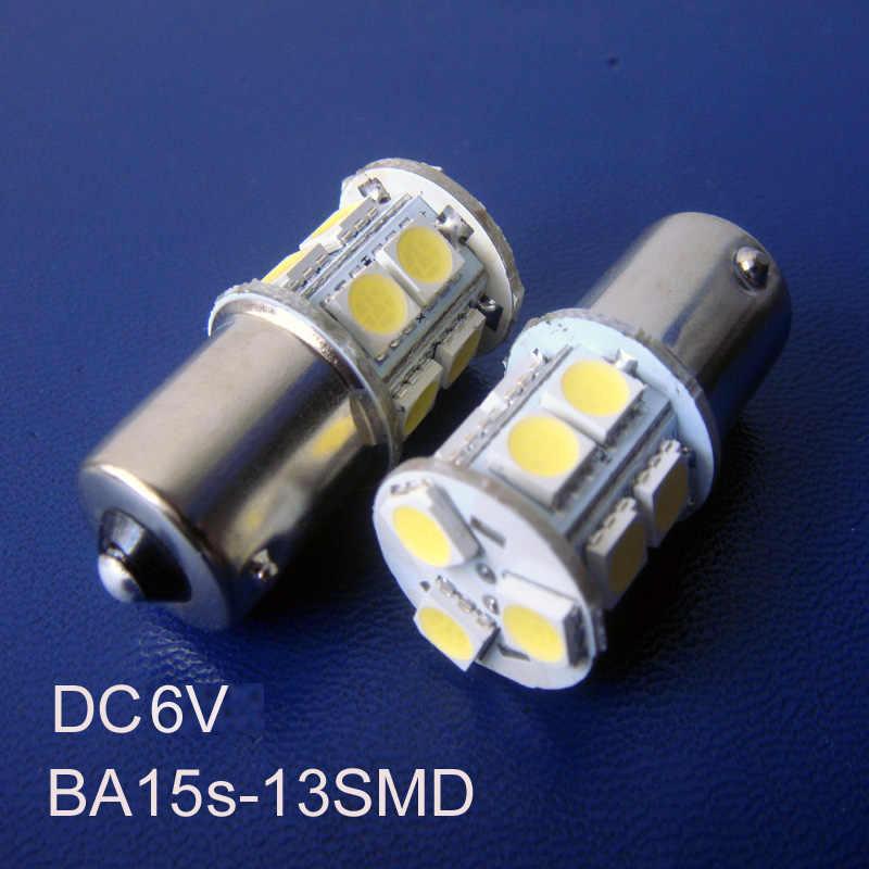 Yüksek kalite, DC6V R5W,1156 LED 6V,1056,BA15s ışığı 6v,1141 led ampul, DC6V R10W ışık, R10W led 6V,5007,5008, ücretsiz kargo 2 adet/grup