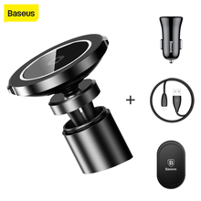 Baseus Wireless Charger for iPhone X 8 Samsung S7 S8 Note8 Car Mount Qi Wireless Charging Air Vent car charger phone holder