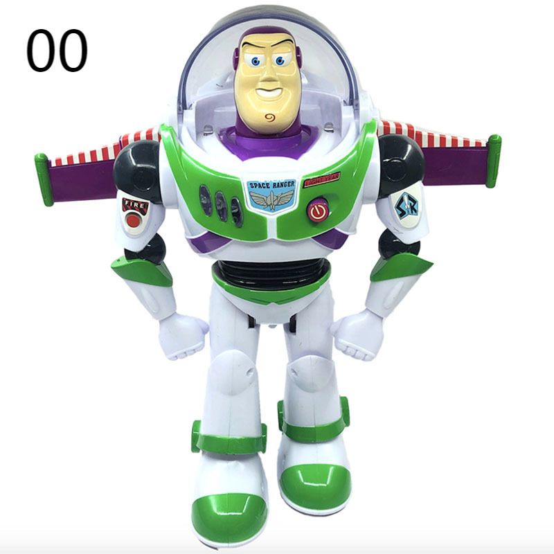 Disney Toy Story 4 Juguete Woody Buzz Lightyear music/light with Wings Doll Action Figure Toys for kids boys girls Birthday Gift