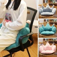 Anime Plush Pillow Sofa Cushions Soft Stuffed Toys Xmas Gift Child Chair Cushion Cute Fluffy Pillows Crown Floor Mat Home Decor