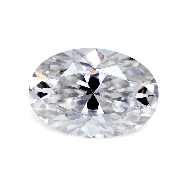 2020 Hot sale D color oval cut 2ct 7x10mm moissanite diamond gemstones jewelry making Серьги кольцо браслет кольца браслеты ьги