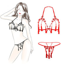 Embroideried Flower Tassels Baby Doll Exotic Apparel Babydoll Lingerie Women Lot