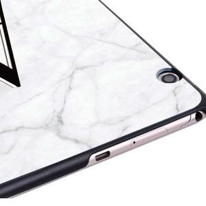 "Lekka twarda skorupa skrzynki pokrywa Fit Huawei MediaPad T3 8.0 /T3 10 9.6 "" / T5 10 Tablet biały marmur powłoka ochronna"