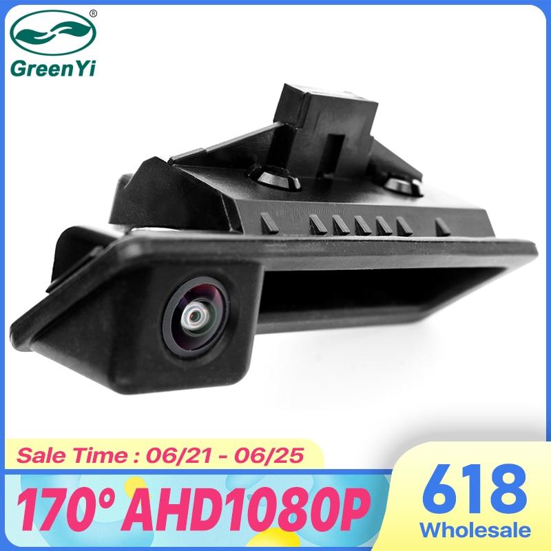 GreenYi 170 градусов 1920x1080P AHD специальная камера заднего вида для автомобиля BMW E82 E88 E84 E90 E91 E92 E93 E60 E61 3 5 X5 X6 автомобиль