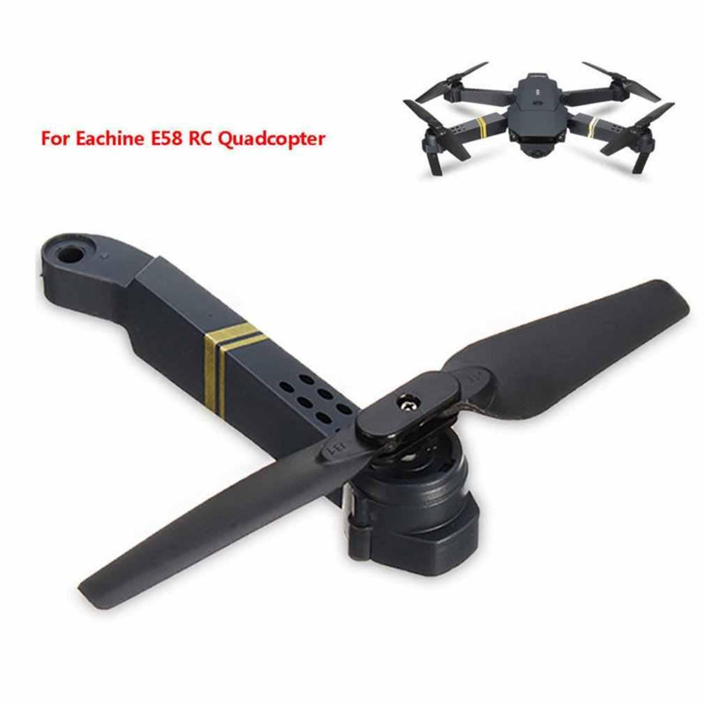 Professionelle Einfach Zu Installieren E58 WIFI FPV RC Quadcopter Achse Arm Ersatzteile mit Motor & Propeller Liefert