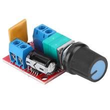 Controlador de velocidad del Motor PWM CC Mini controlador de Motor de CC PWM 3 V/6 V/12 V/24 V/35 V controlador de regulación de velocidad 5A