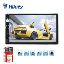 "Hikity 7"" Auto Radio 7023b Universal 2 din Car Multimedia MP5 Player Autoradio Support Steering Remote Control Backup Camera(China)"