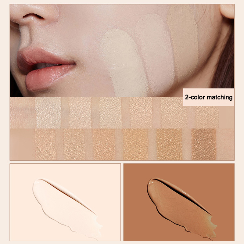 2-Colored Toned Tattoo Concealer Waterproof Cover Scar Birthmarks Sun Block Brighten Long Lasting Concealer Cream Makeup BV789