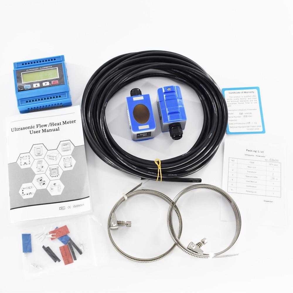 Ultrahangos folyadék áramlásmérő TUF-2000M DN50-700mm modulos - Mérőműszerek - Fénykép 6
