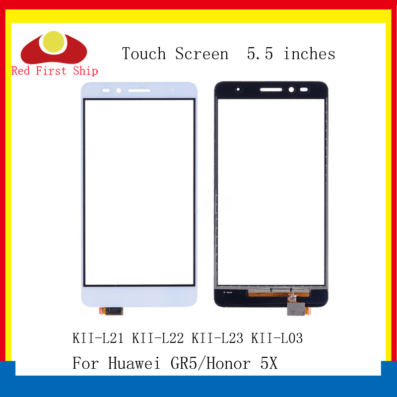 10Pcs/lot <font><b>Touch</b></font> <font><b>Screen</b></font> For <font><b>Huawei</b></font> <font><b>Honor</b></font> <font><b>5X</b></font> <font><b>Touch</b></font> Panel Sensor Digitizer Front Glass Outer GR5 Touchscreen NO LCD KII-L21 image