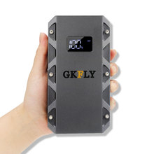 GKFLY 1500A Lithium Polymer Battery 20000mAh Polymer Batteries Starting Device 12V Power Bank Petrol Diesel Jump Starter Jumpers