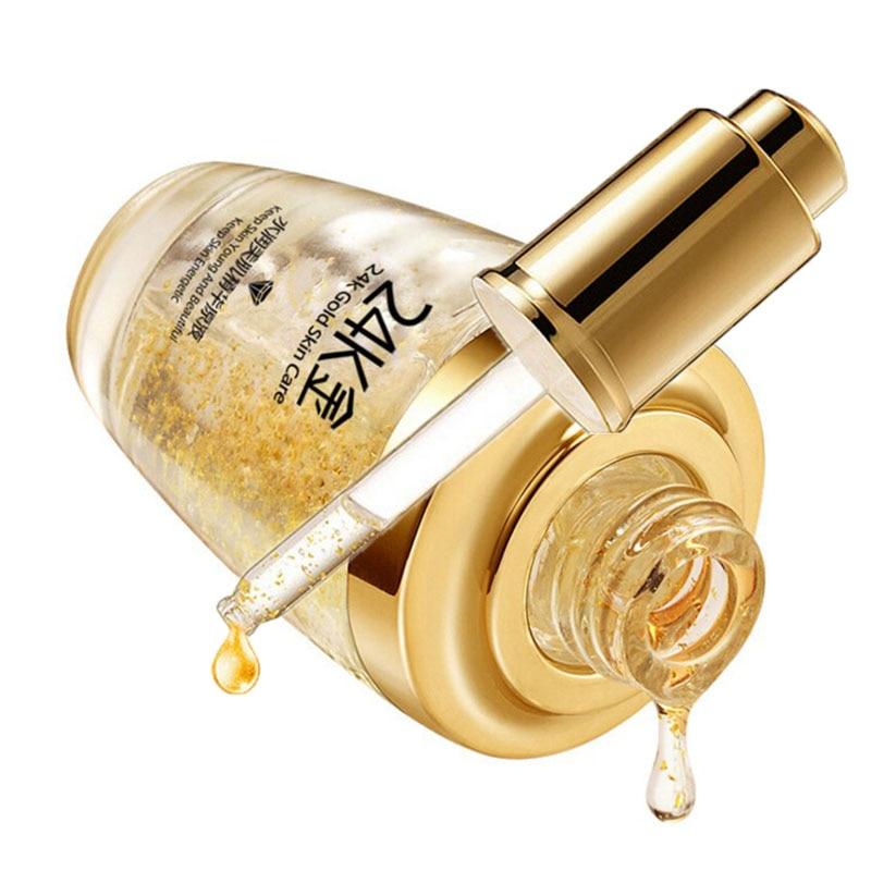 BIOAQUA 24 K Gold Face Cream Whitening Moisturizing 24K Gold Day Creams & Moisturizers 24K Gold Essence Serum New Face Skin Care