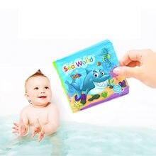 Livre de bain, jouet éducatif pour bébés, hochet flottant pour le développement de l'intelligence, livre de connaissance, modèle nouveauté