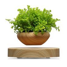 Magnetic Levitating Potted Plant Air Bonsai Pot Levitation Plants Planter Flower Pots Succulent Plant For Home Office Decor цена
