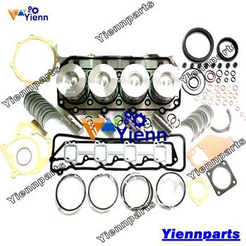 For VOVLO D3.1ACAE2EC3K D3.1 Overhual rebuild kit with piston ring  bearing set For Wheeled Excavator Tractor Engine Parts