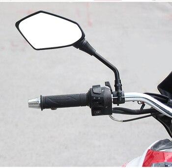 2 uds 10mm espejo retrovisor de motocicleta para KTM 690 1290 790 duke exc 450 duke 790 690 smc etiqueta engomada 50 50cc exc 2002