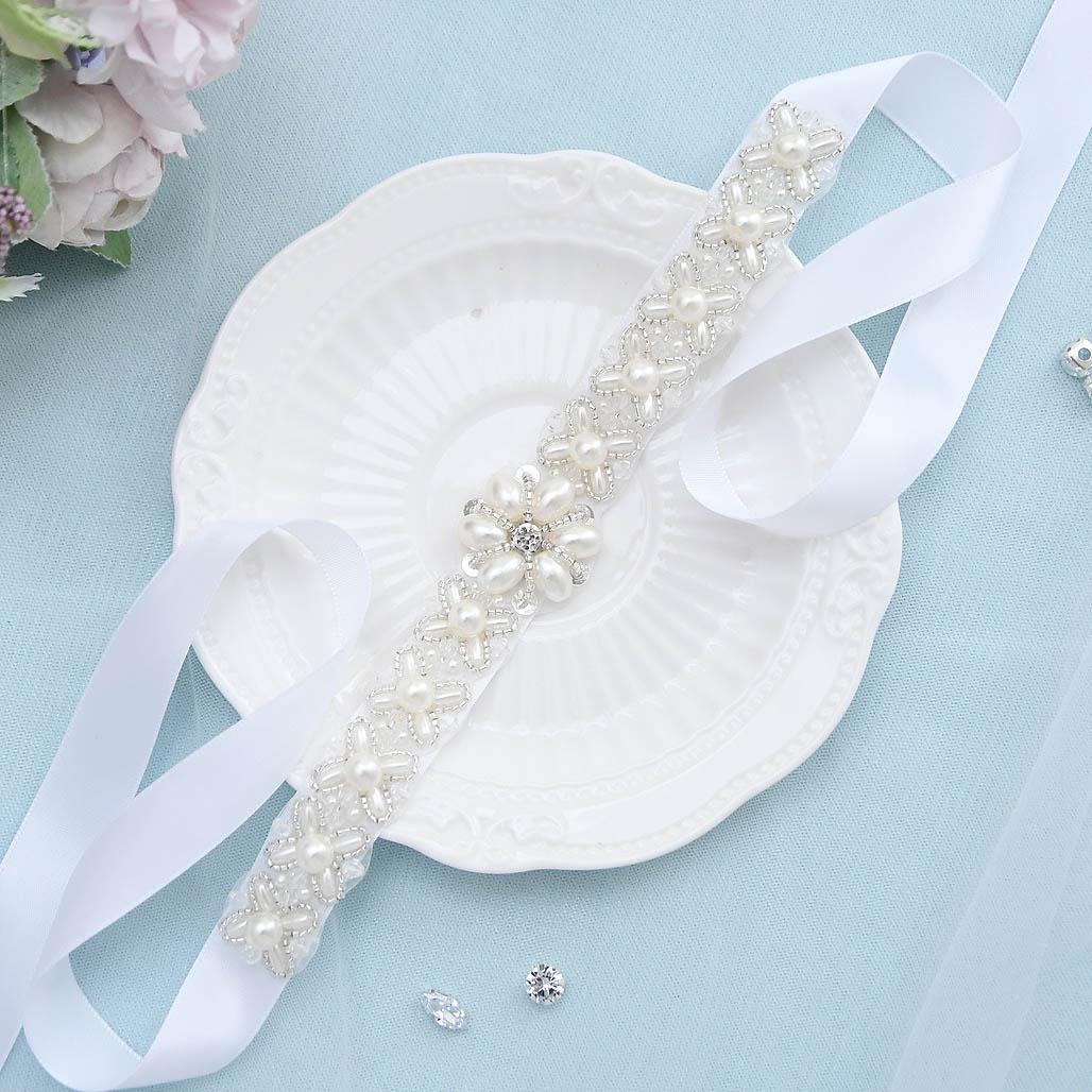 S155 Silver Rhinestone Wedding Belt Weeding Dress Belt Bridal Belt Bridesmaid Sash Belt for Evening Dress Diamond Belt