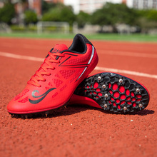 Track and field sprint running sprint shoes track and field shoes lightweight professional sports shoes outdoor casual shoes spi