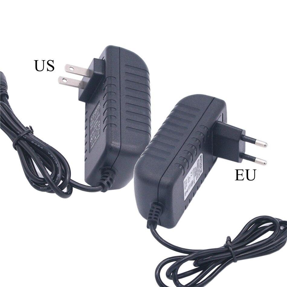 AC DC Светодиодный источник питания 5 в 9 в 12 В 24 В 1A 2A 3A 5 12 24 В Вольт AC/DC импульсный источник питания 220 В до 5 В 9 в 12 В 24 в EU US Plug SMPS