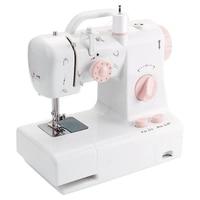 Mini Sewing Machine Fhsm 318 Built In Light Household Multi Function Crafting Mending Machine Design Easily Carried Eu Plug