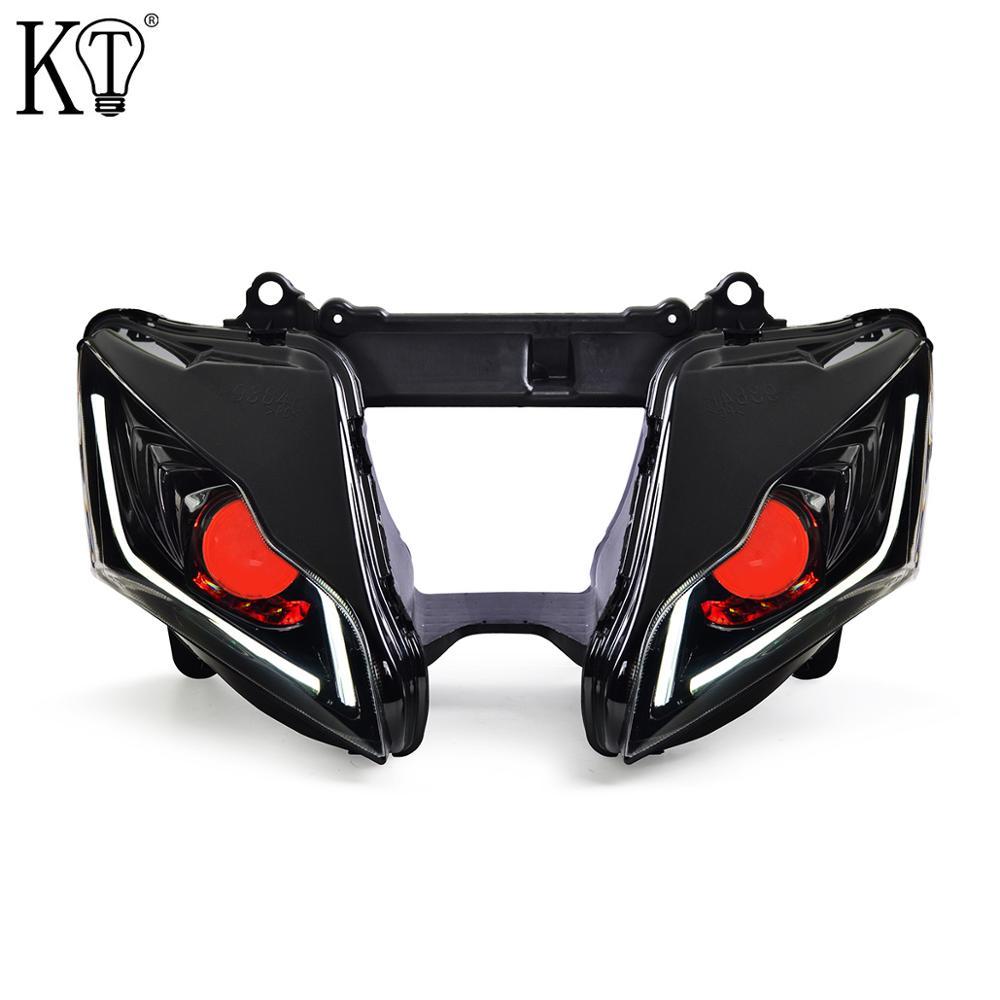 For Kawasaki Ninja ZX10R ZX-10R Full LED Headlight 2011-2015 V2