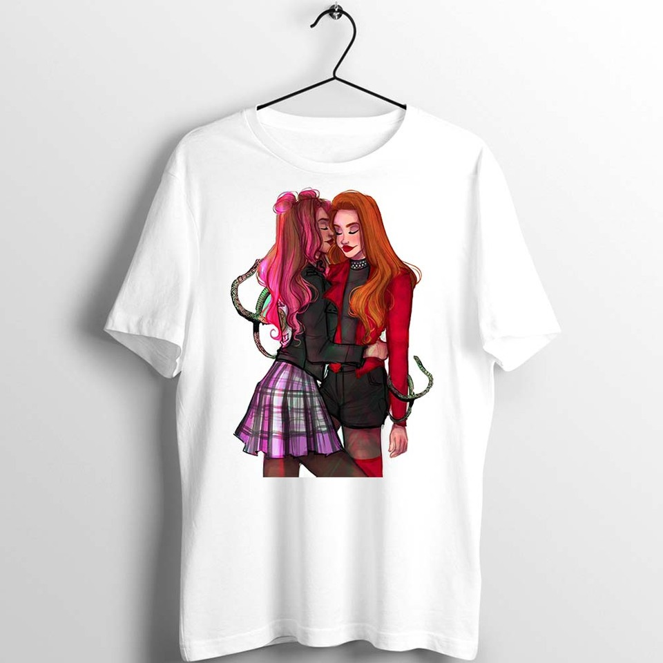 Women's T Shirt Riverdale Cheryl Blossom The Kiss Awesome Girl's Tee