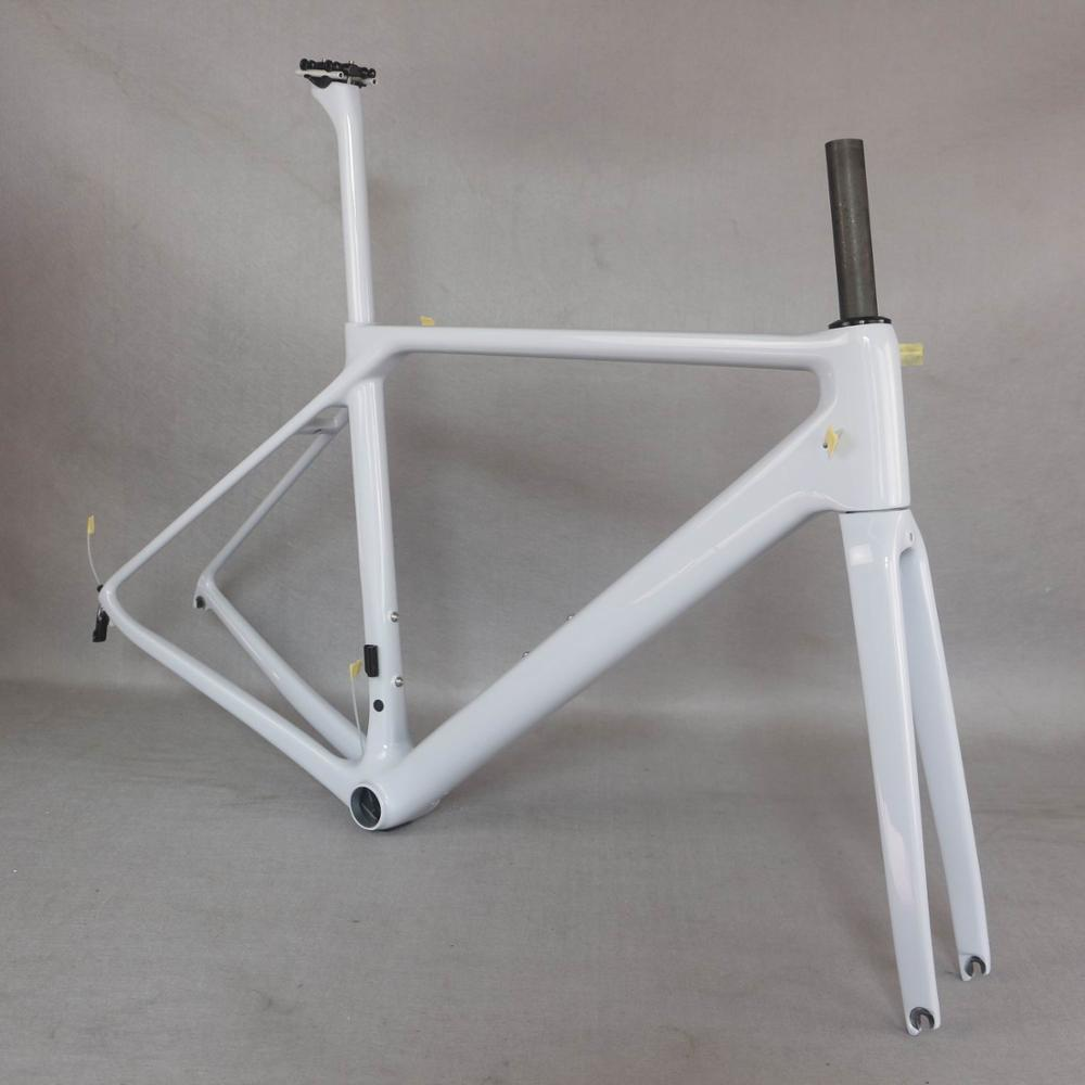 2021 Bicycle new V brake carbon road frame Bicycle Frameset <font><b>fm008</b></font> New EPS technology road bike frame image