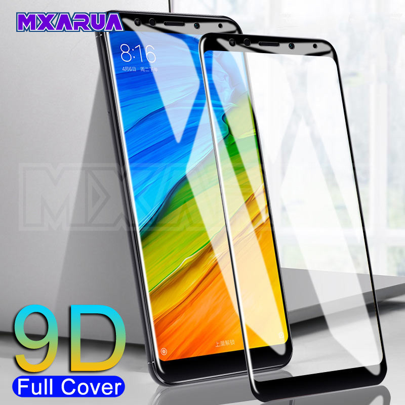 9D Protective Glass For Xiaomi Redmi 5 Plus 5A S2 Go 4 4X 4A K20 Redmi Note 5 5A Pro Safety Screen Protector Tempered Glass Film
