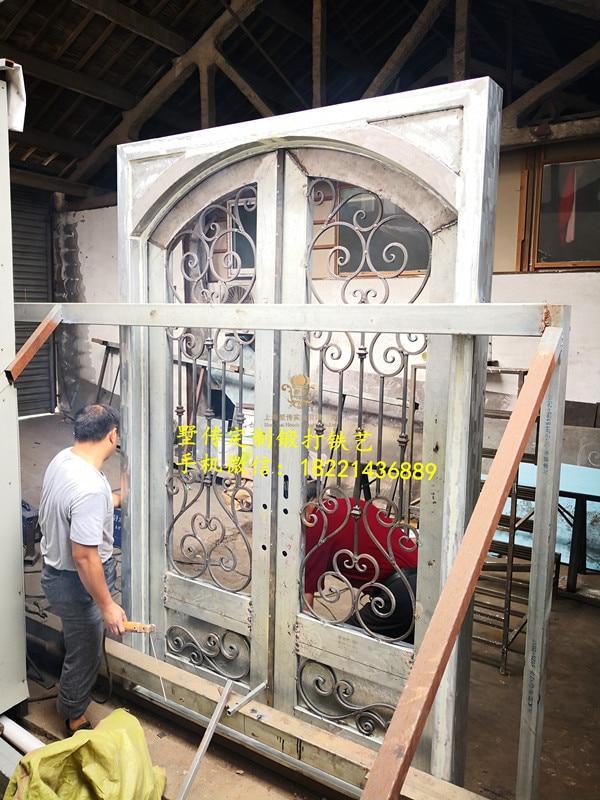 Shanghai Hench Brand China Factory 100% Custom Made Sale Australia Rot Iron Door