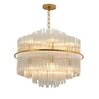 Modern Luxury Crystal Chandelier Lighting For Living Room Dining Room Led Lamp Indoor Light Fixtures